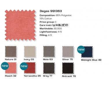 Farben Stoff Degas PGC