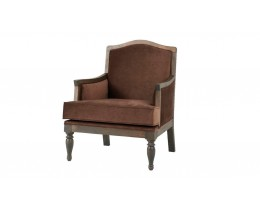Coastal Homes Bel Air Armchair Velours Kastanie