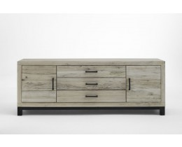 Eiche Sideboard Metall Bodahl Valentino, Farbe Sand
