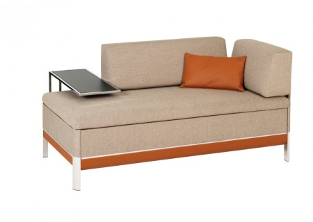 Bed for Living Cento Schlafcouch Recamiere (Sonderausführung Farbe)