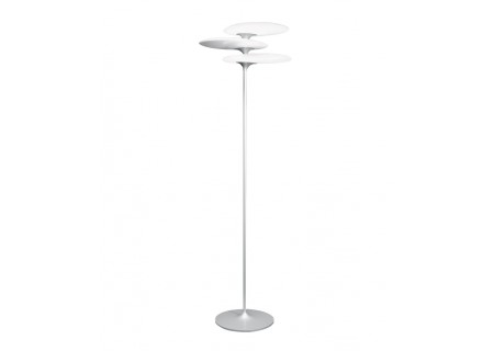 QisDesign LED-Stehleuchte Coral Reef, Silver