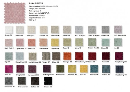 Farben Stoff Evita PGB