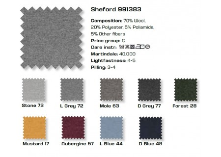 Farben Stoff Sheford PGC